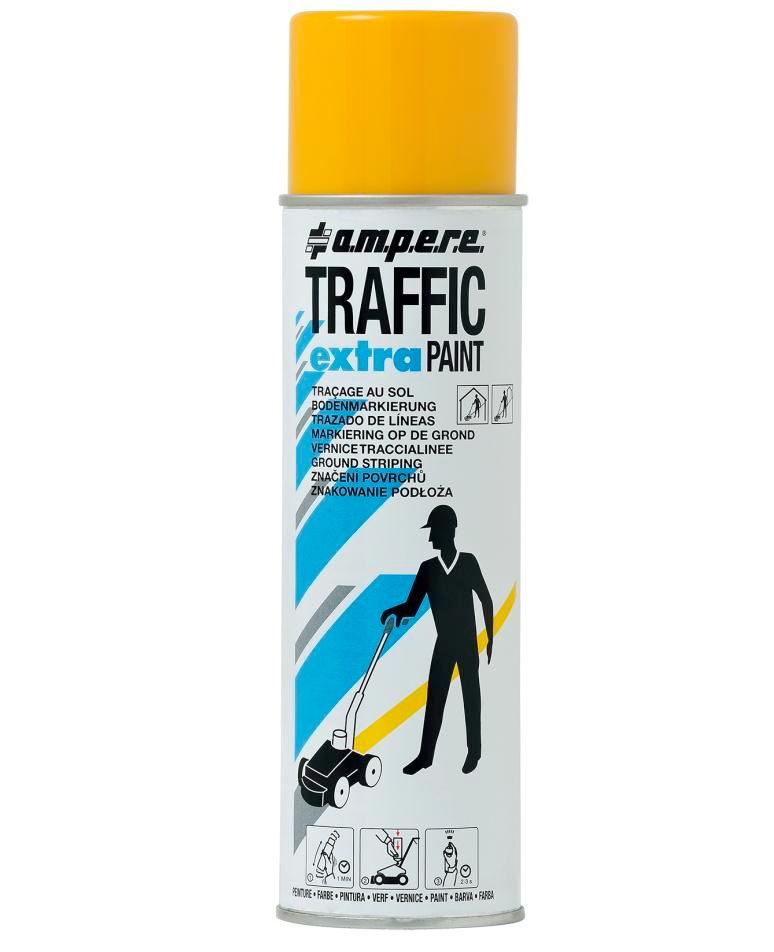 Bodenmarkierfarbe TRAFFIC Extra, gelb, 12 x 500ml netto - 1