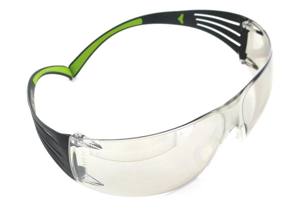 3M Schutzbrille SecureFit 400, verspiegelt, Polycarbonat-Scheibe, Indoor / Outdoor, AS/UV - 1